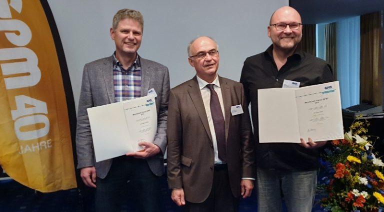 Auszeichnung als Benchmark-Trainer (GPM)®