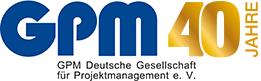 40 Jahre GPM Logo