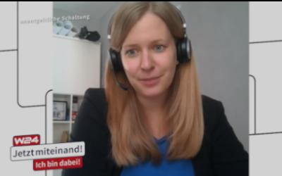 Head of DXC Academy live @  Wiener Fernsehsender W24